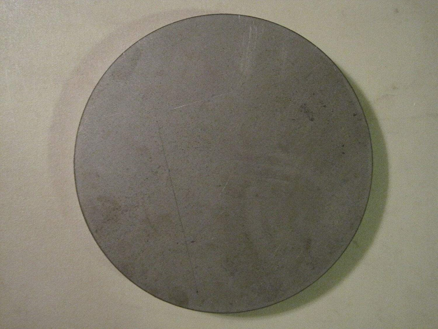 """7.5/"""" Diameter Disc Shaped .125 A36 Steel 1//8/"""" Steel Plate Circle Round"""