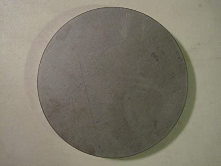 "8.25/"" Diameter .125/'/' A36 Steel Disc Shaped Round Circle 1//8/"" Steel Plate"