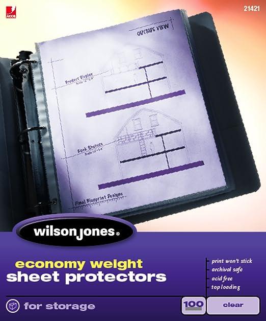 Workbook customizable handwriting worksheets : Amazon.com : Wilson Jones Economy Weight Top-Loading Sheet ...