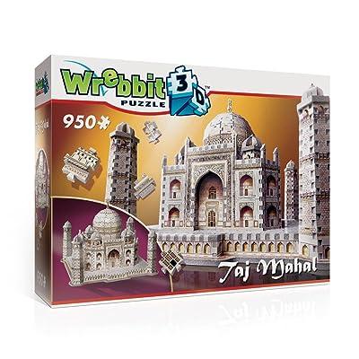 WREBBIT 3D Taj Mahal Puzzle, 950-Piece: Toys & Games