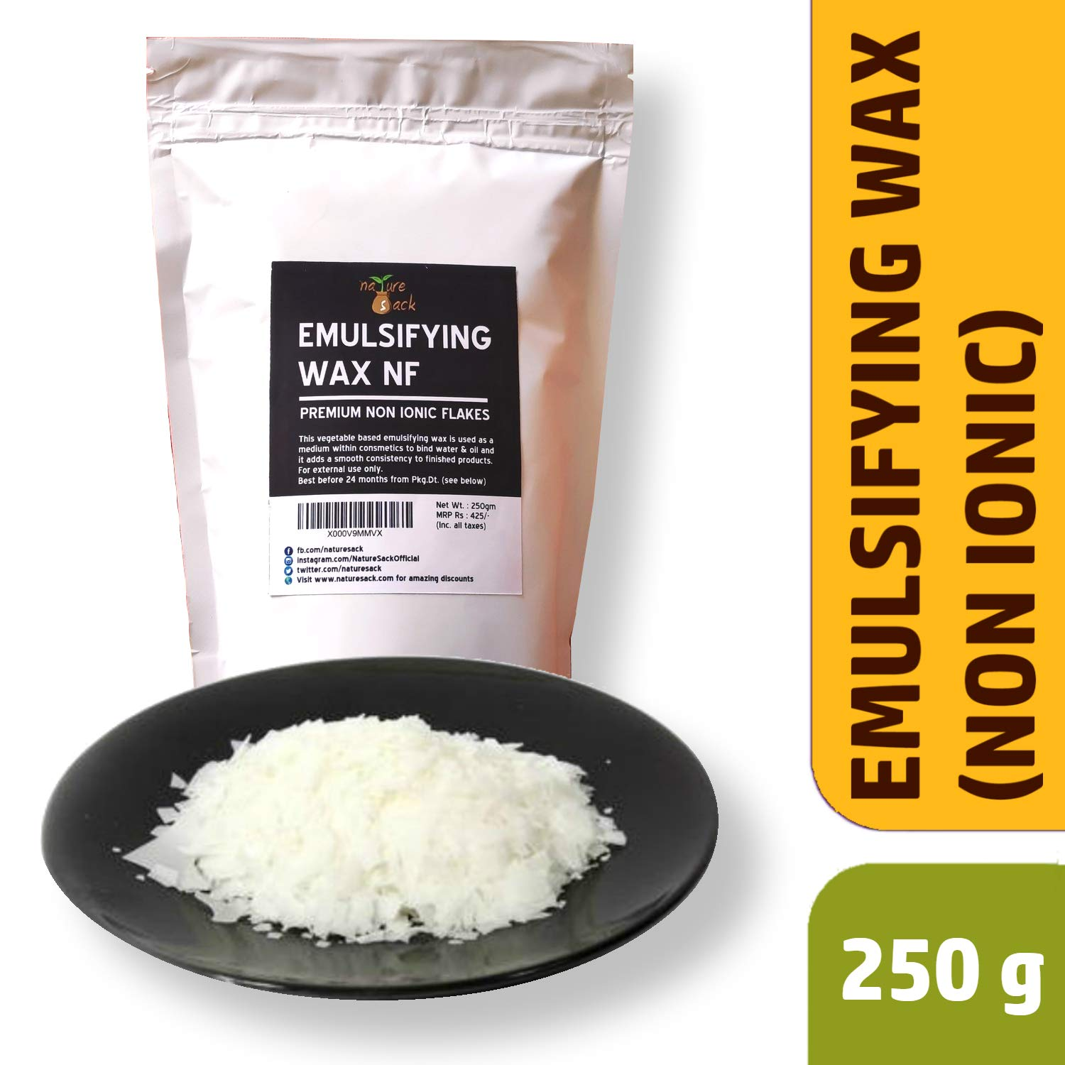 Buy NatureSack-The Best Of Nature Emulsifying Wax NF for DIY