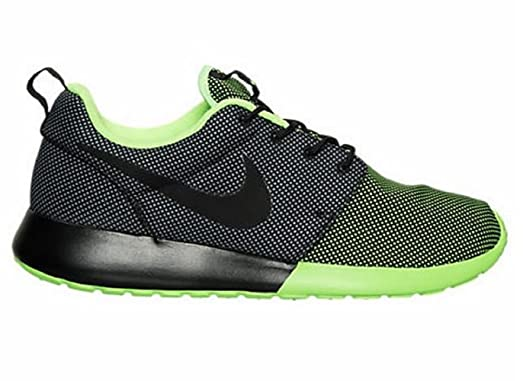 Nike Men's Roshe One Premium CB Casual Shoes Black/Voltage Green/Cool Grey (