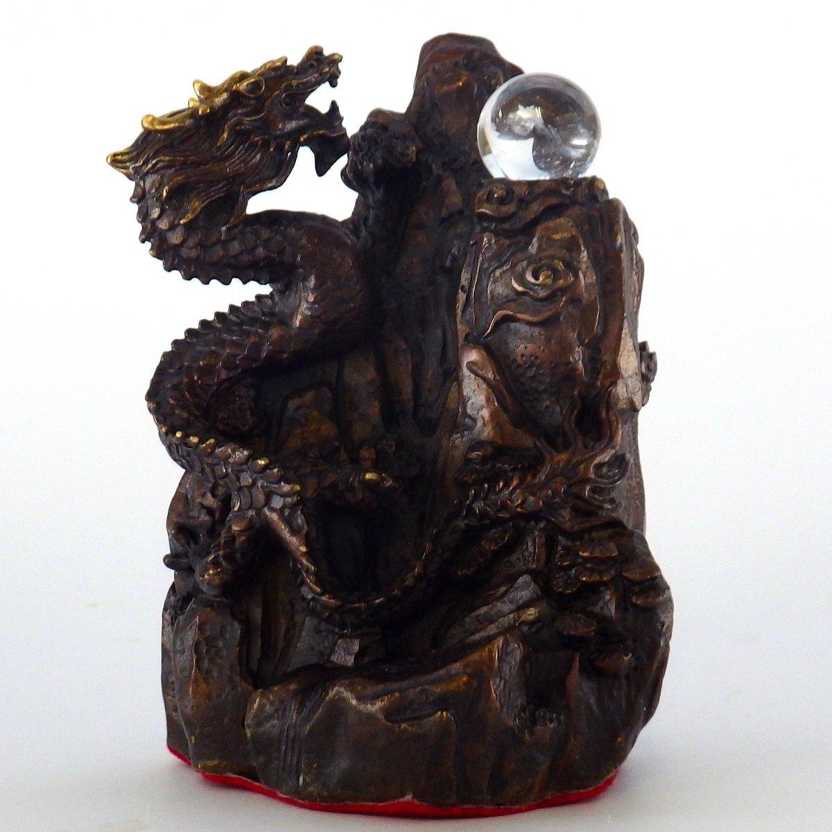 銅製「金龍上山」 B001HJ2P6U
