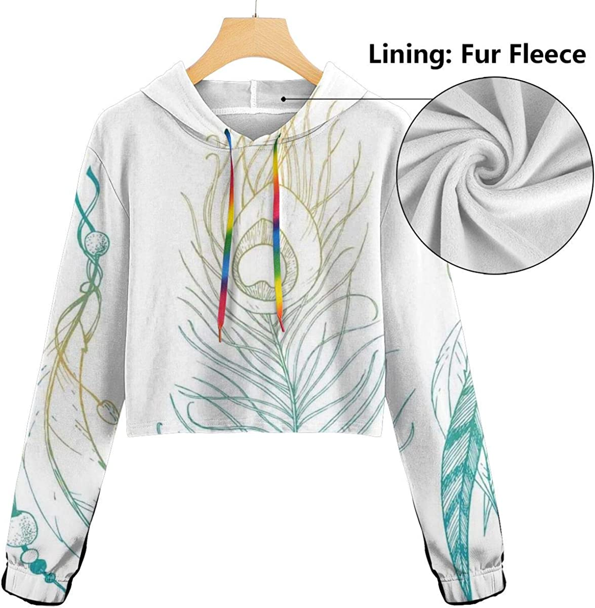 Womens Hoodie,Warm Colored Mandala Pattern with Petal and Leaf Motifs Middle Eastern Design,Lady Sweatshirt