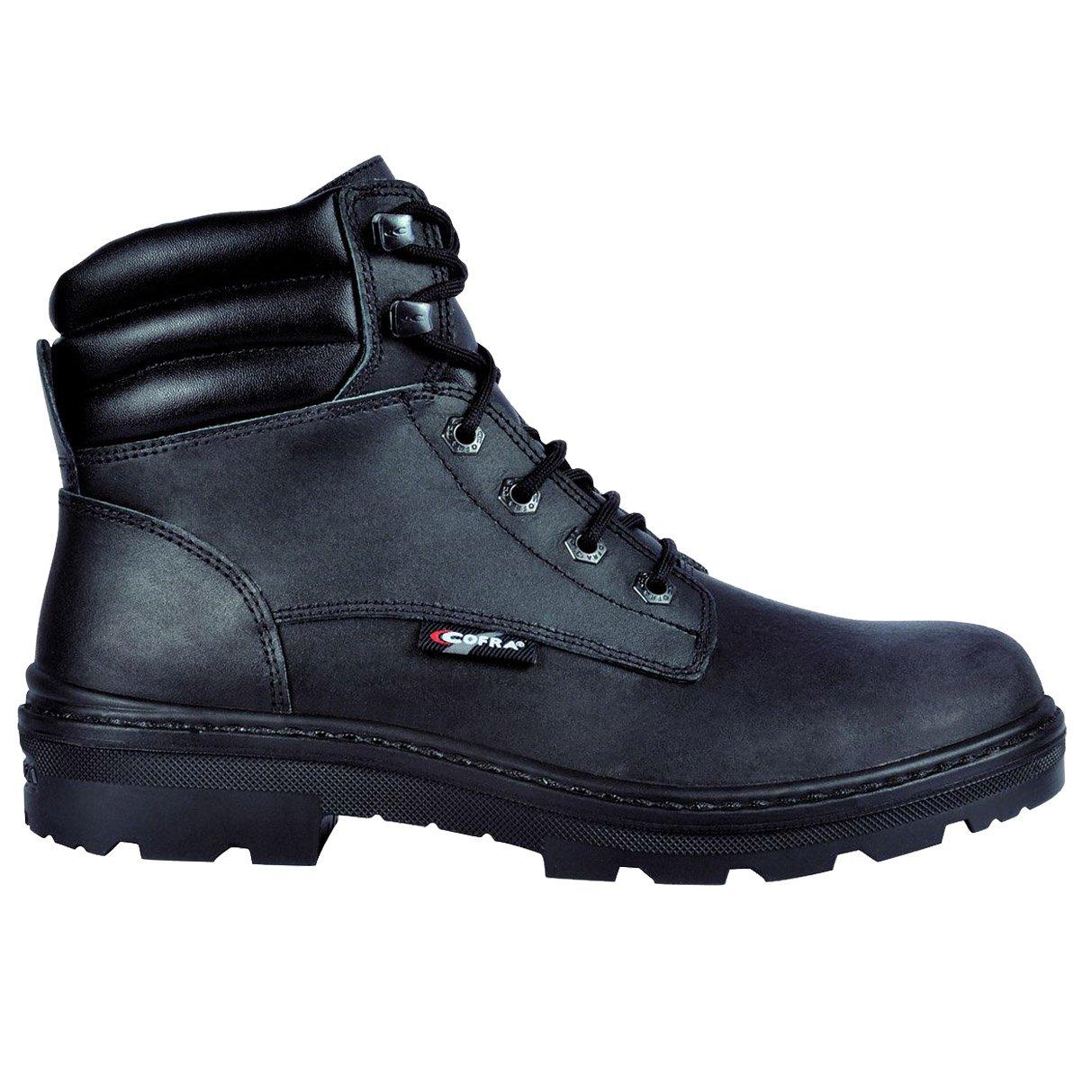 Cofra 25550-000.W37 Chaussures de s/écurit/éHull Bis S3 SRC Taille 37 Noir