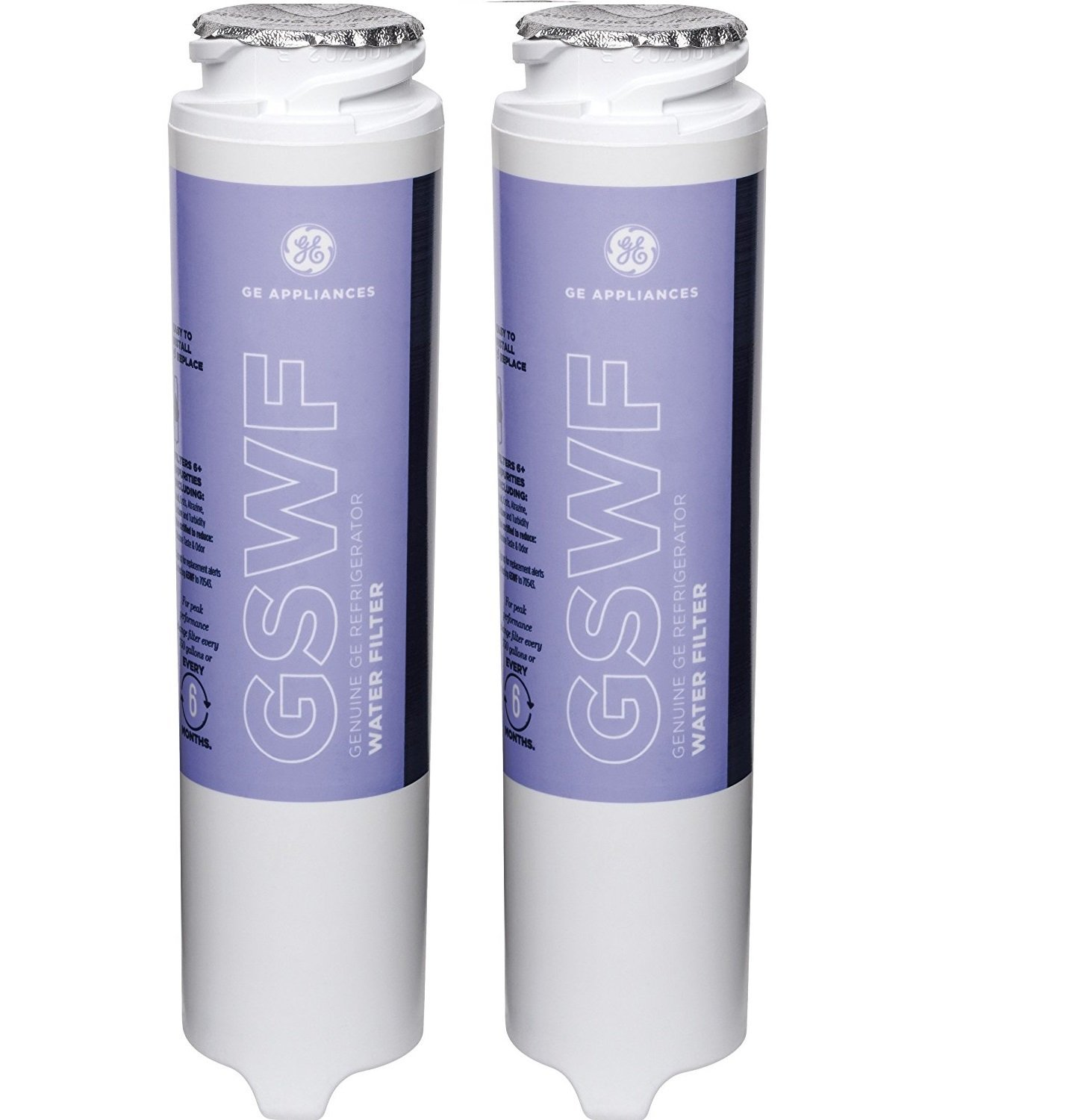 GE GSWF-2 Refrigerator Water Filter 2-Pack