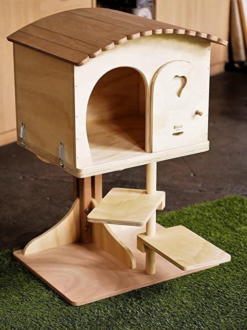 Blitzen novedades, Big Robinson, Casa caseta para perro del árbol para gatos de gran