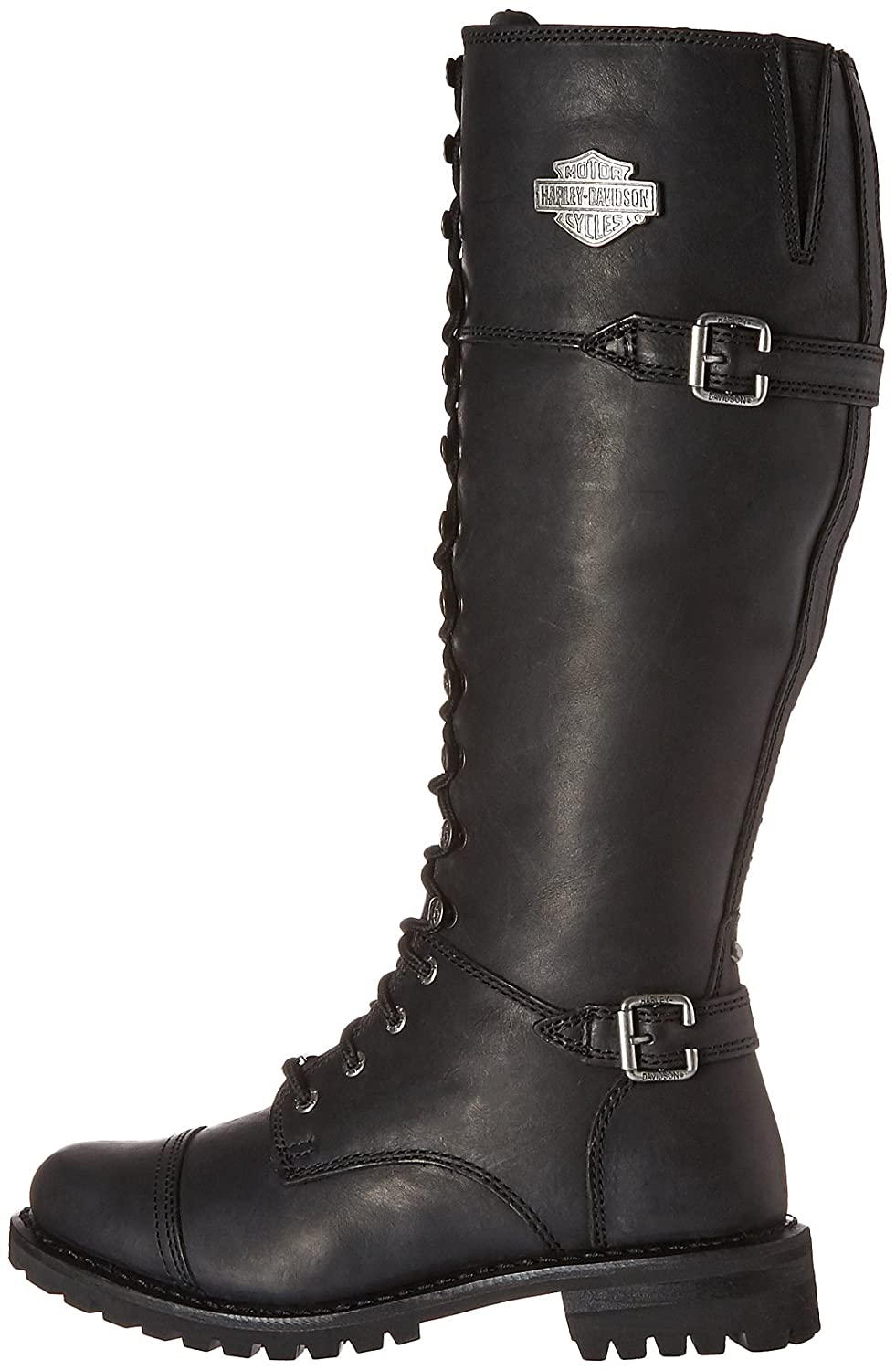 Harley-Davidson Women's Beechwood Work Boot B071L115MF 6 C/D US|Black