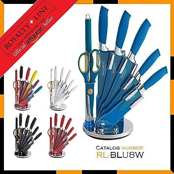 Compra Royalty Line RL-8W Conjunto de 5 cuchillos con ...