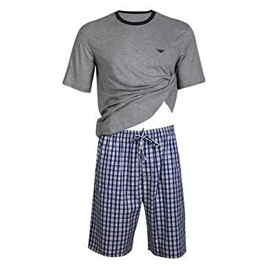 eb49f9b2a20 Godsen Men s Casual Wear Cotton Short Pajama Set Tshirt and Pants at ...