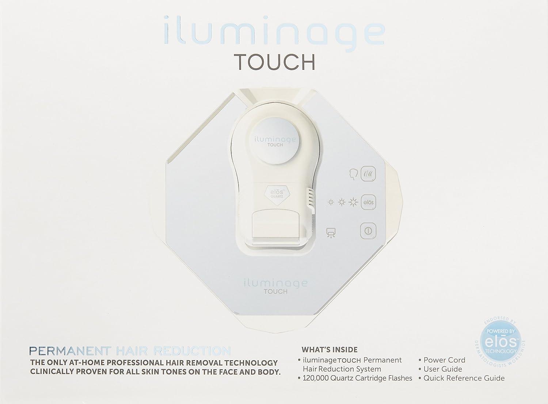 Amazon com: Iluminage Touch Permanent Hair Reduction Device, 4 1 Lb