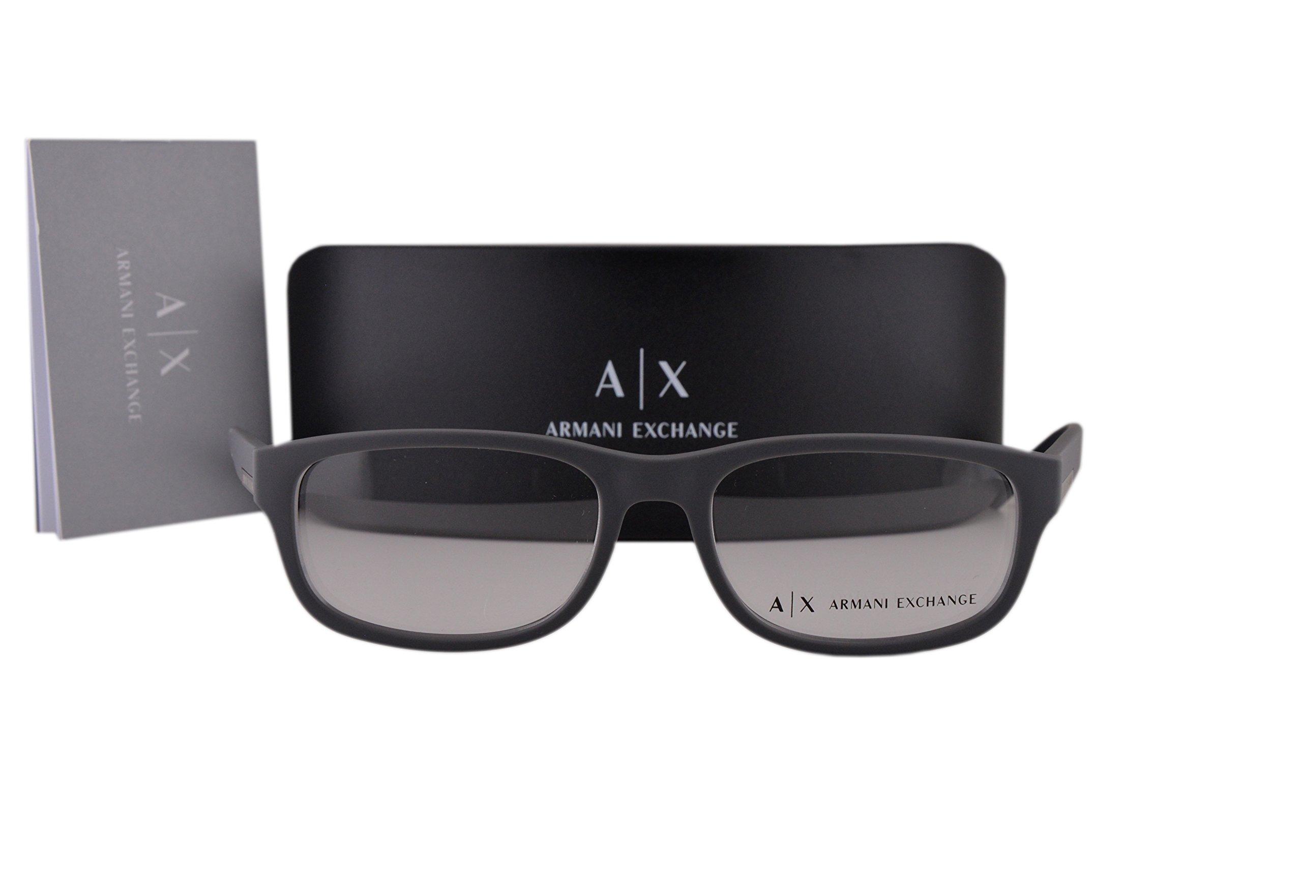 Armani Exchange AX3031 Eyeglasses 54-17-140 Matte Gray 8180 AX 3031