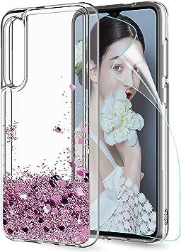 LeYi Funda Xiaomi Mi 9 Mi9 Silicona Purpurina Carcasa con HD ...