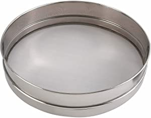 Winco Sieves, 16-Inch, Stainless Steel