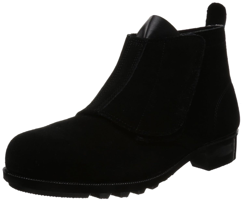 エンゼル 耐熱中編靴(マジック) B212 JIS T8101 革製S種(普通作業用)