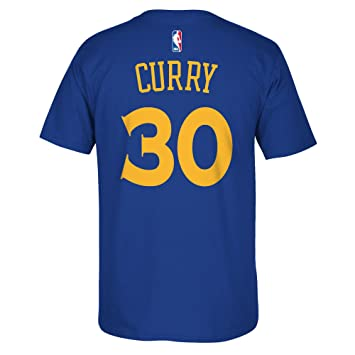Camiseta del jugador Stephen Curry del los Golden State Warriors de la Nba, marca Adidas, color azul, hombre, azul, xx-large: Amazon.es: Deportes y aire ...