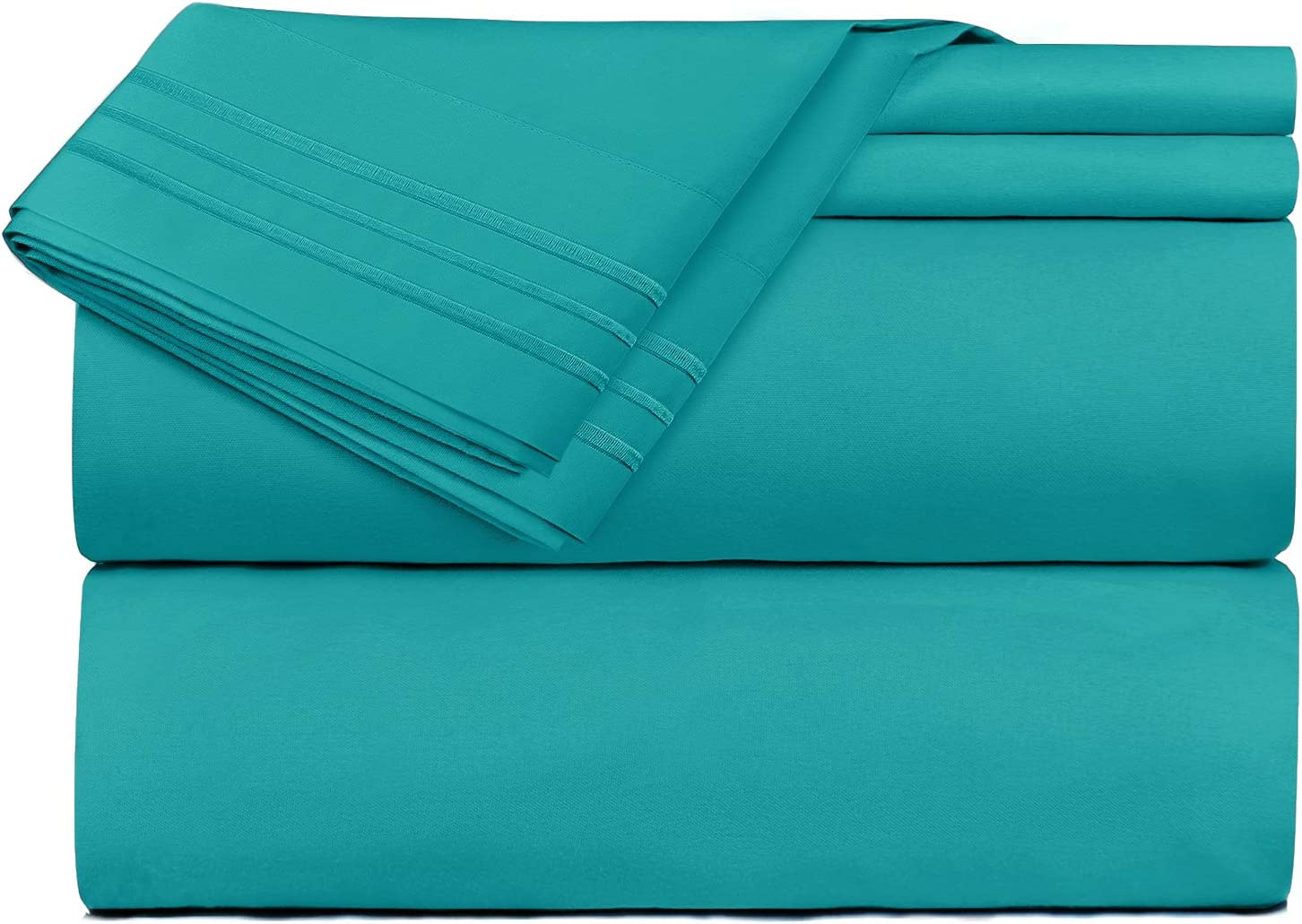 Clara Clark Premier 1800 Series Green Bed Sheets