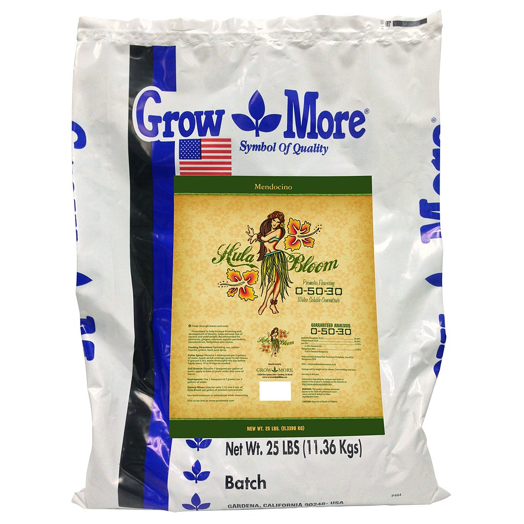 Grow More 7501 Mendocino Hula Bloom, 25-Pound by Grow More
