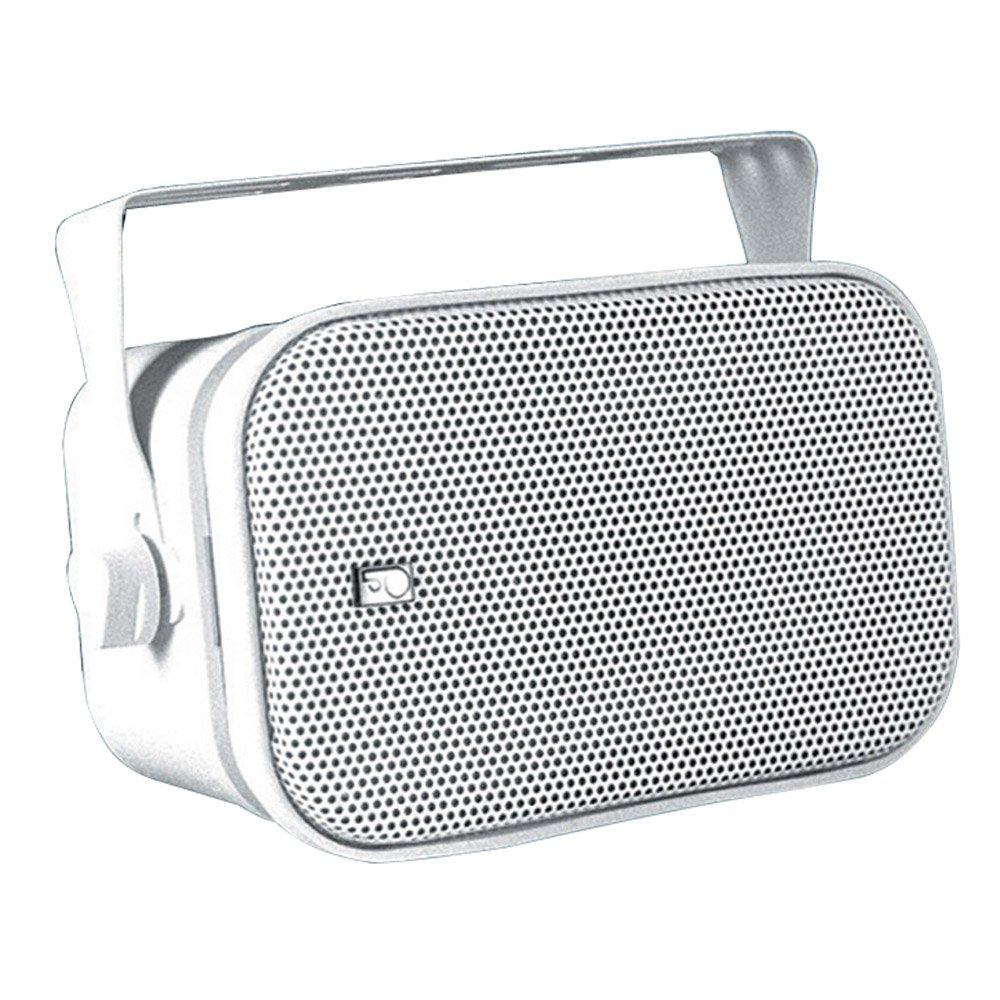 PolyPlanar Compact Box Speaker Pair White