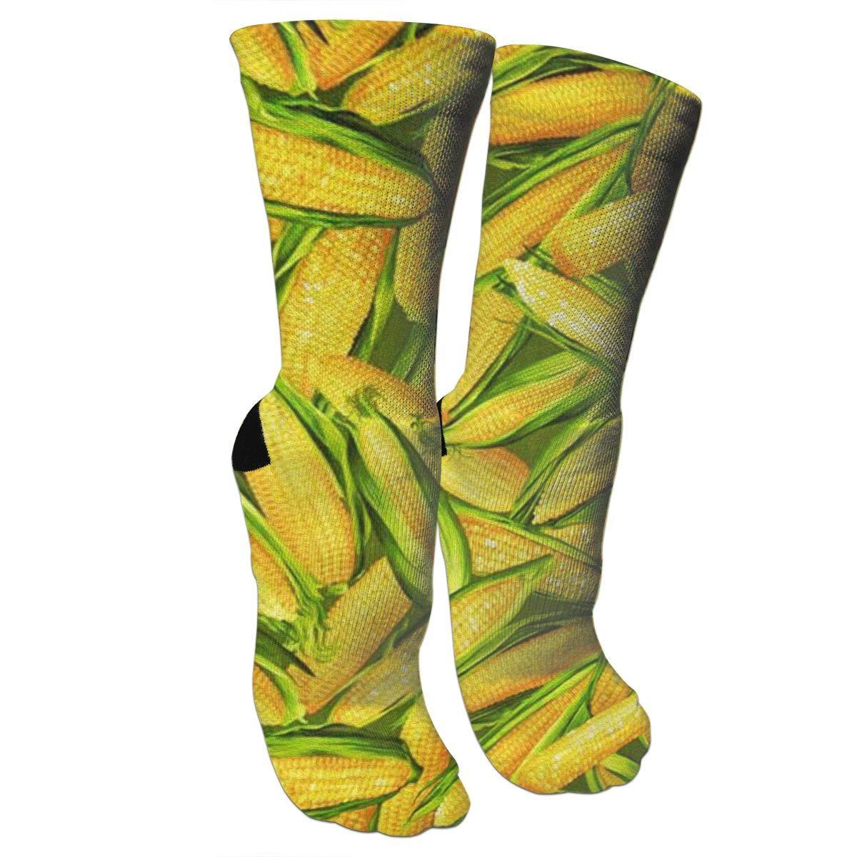 Amazon.com: Miaowow Mature Corn High Socks Crew Sock Crazy ...
