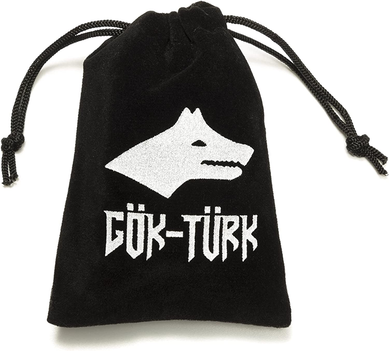 pour des hommes Tugra /Émpire Ottoman Bague G/ök-T/ürk pour le pouce taille ajustable