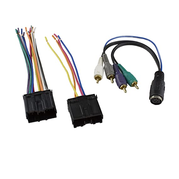 Stereo Radio Replacement Wiring Harness Amp Integration Wire Adapter