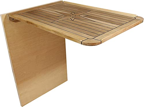 Smart Marine Boat Folding Teak Table Top with Table detail review