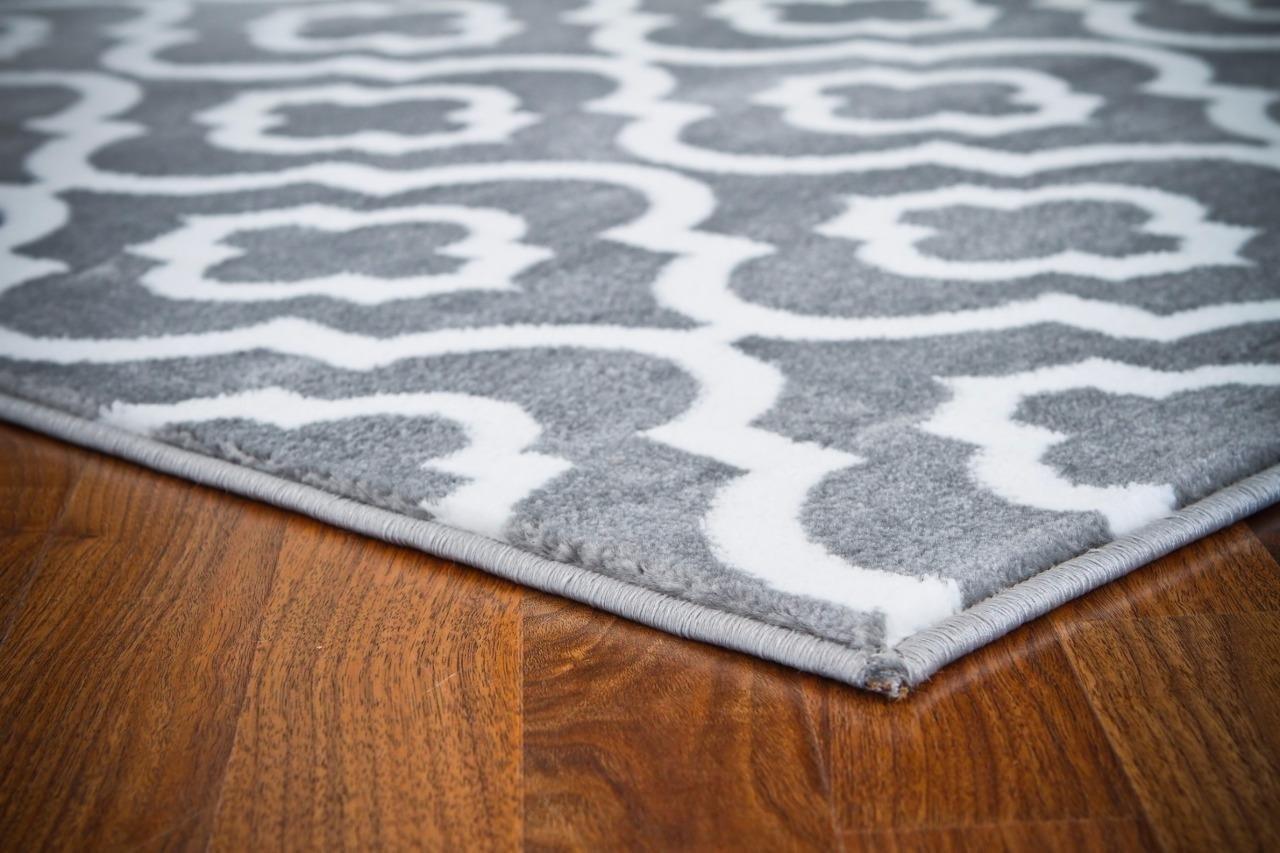 Amazon.com: 3028 Gray Moroccan Trellis 2\'0x3\'4 Area Rug Carpet Large ...