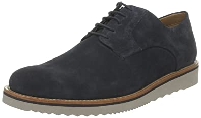 Clarks Freely Turn Derby Mens Suede - Navy (9 UK)