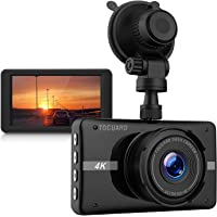 TOGUARD 4K Ultra HD 3'' LCD Car Dash Camera with Night Vision