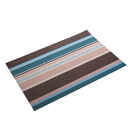 Awesome Amorus Washable Placemats Heat Insulation Non Slip Table Mats For Kitchen  Dining Set Of 6