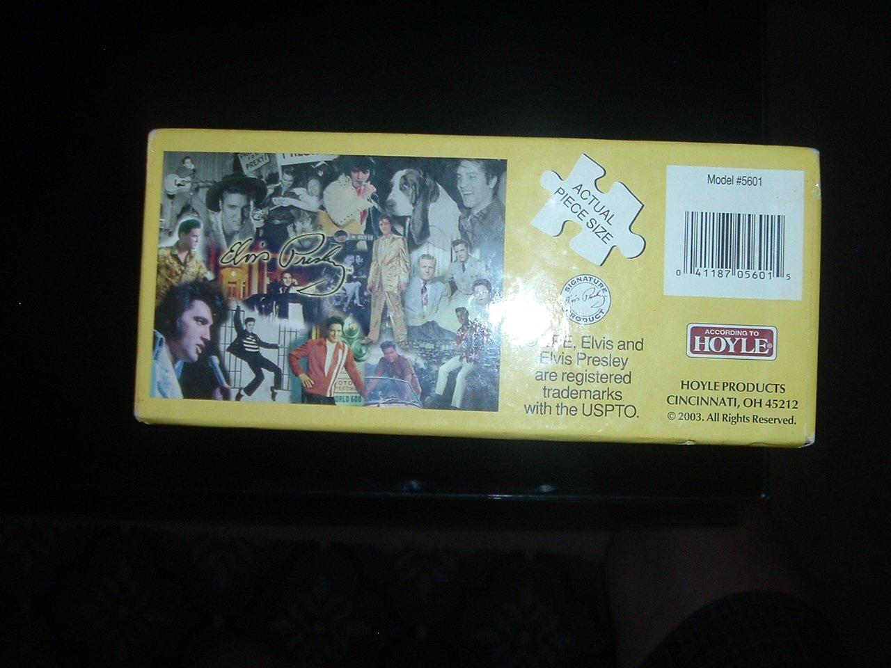Elvis Presley 1000 Piece Puzzle