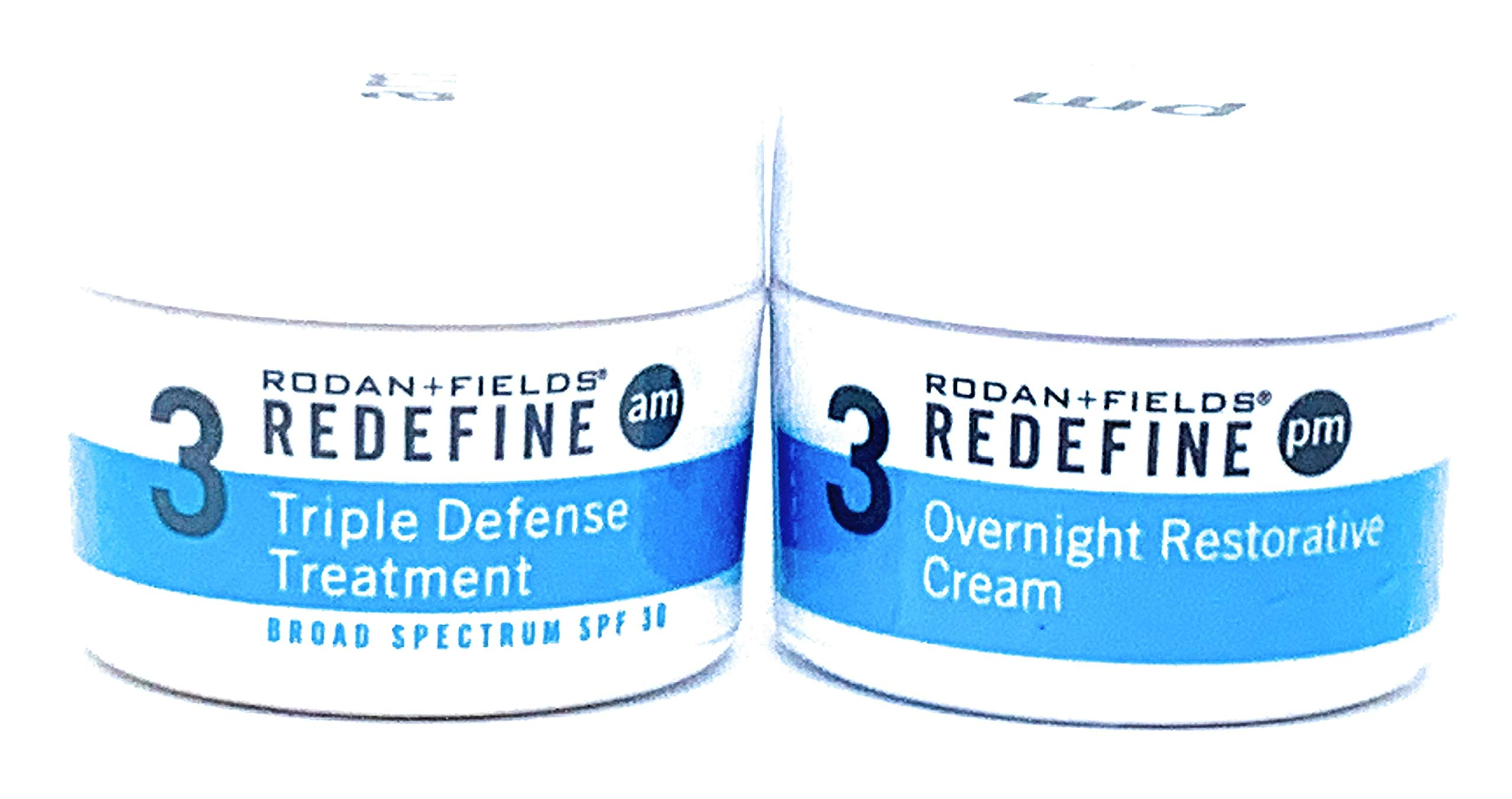 Rodan + Fields Redefine Triple Defense AM & Overnight Restorative Cream Bundle by