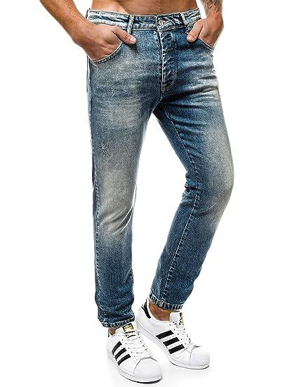 1db60953f3cb68 OZONEE Herren Jeans Jeanshose Jogginghose Sporthose Hose Freizeithose  Trainingshose Jogger Otantik 1805  Amazon.de  Bekleidung