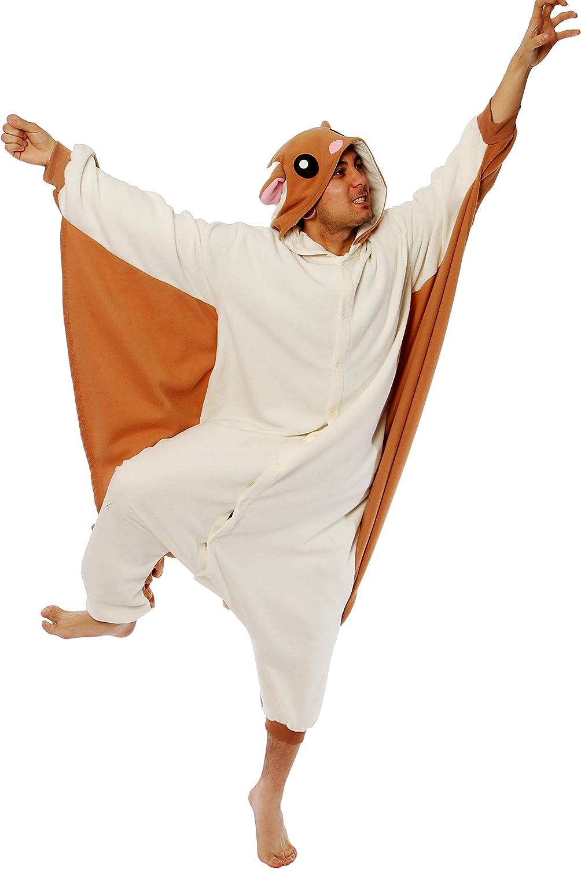 Flying Squirrel Kigurumi Adult Costume Amazon Ca Toys Games