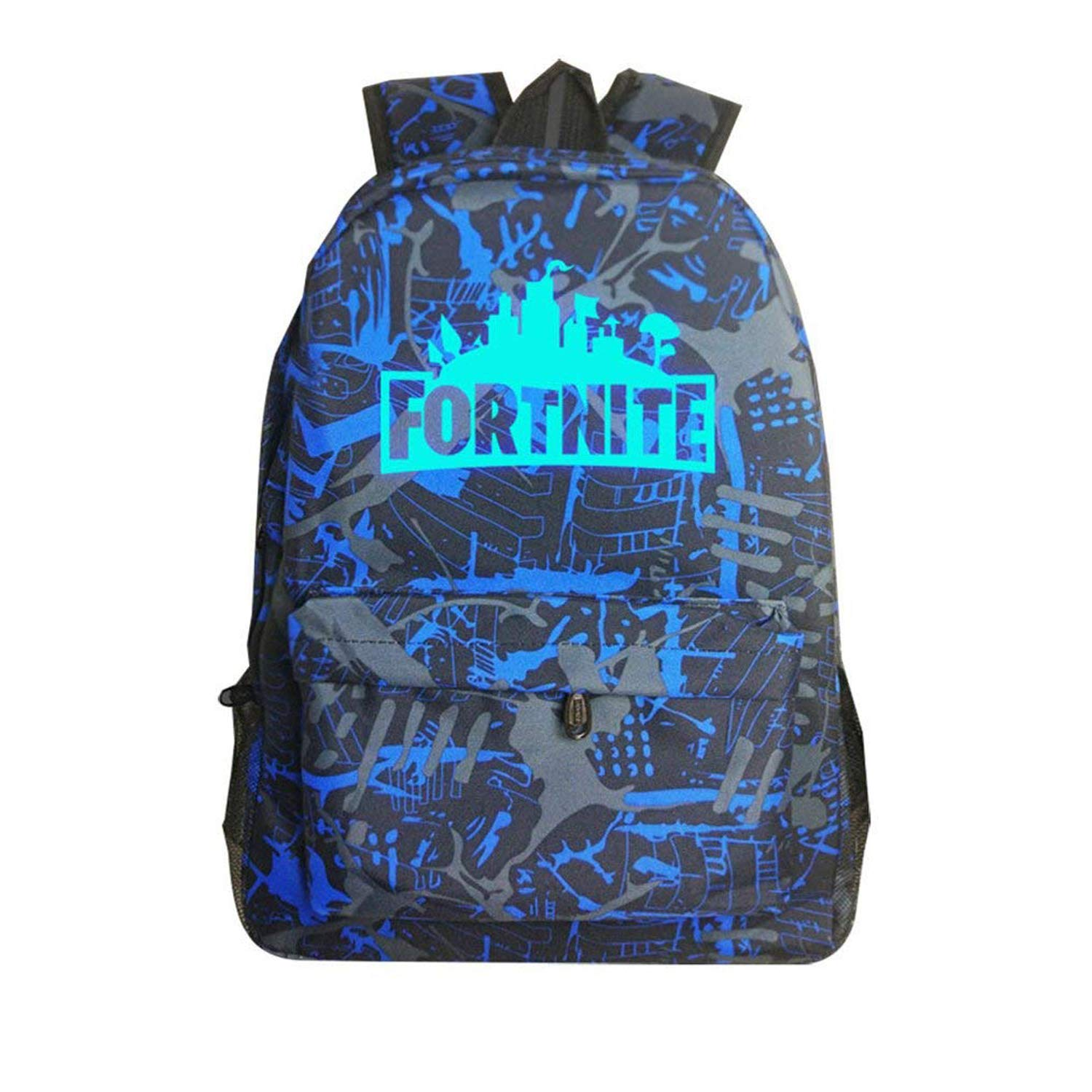 Obvie School Backpack Cool Luminous Schoolbag Unisex Backpack for Teens (Blue) 12