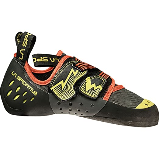 La Sportiva Men's Oxygym Rock Climbing Shoes Carbon/Sulphur - 46