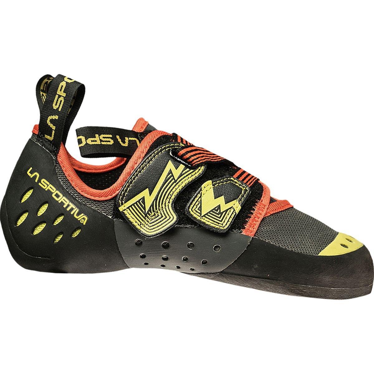 La Sportiva OXYGYM Climbing Shoe, Carbon/Sulphur, 33
