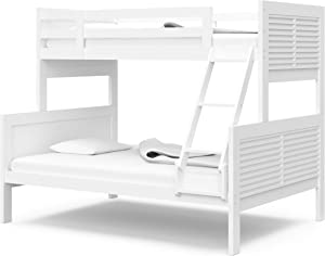 Thomasville Kids Milo Twin Over Full Bunk Bed, White
