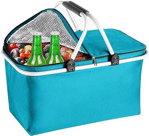 5 L Cool Sac Bleu.. LE PARFAIT taille Cool Sac Pour Paniers Repas Emballé commute
