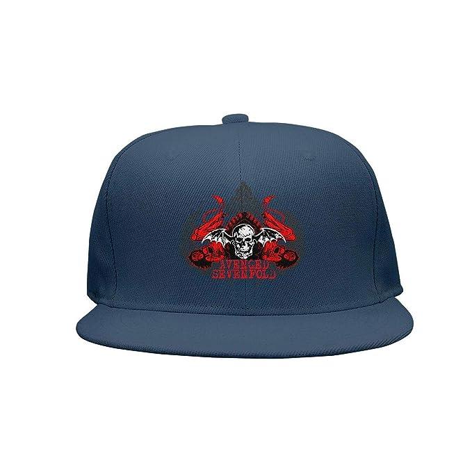 ecdaf2b91c1bf Ina Fers. Unisex Fashion Hats Avenged-Sevenfold-A7x-Logo- Flat-Brim ...