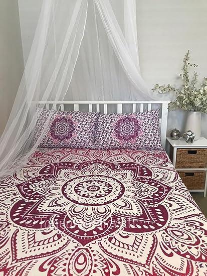 Amazon Com Queen Full Size Mandala Tapestry Mandala Wall Art