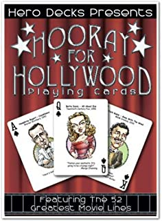product image for Channel Craft Hero Decks - Hooray for Hollywood - Playing Cards