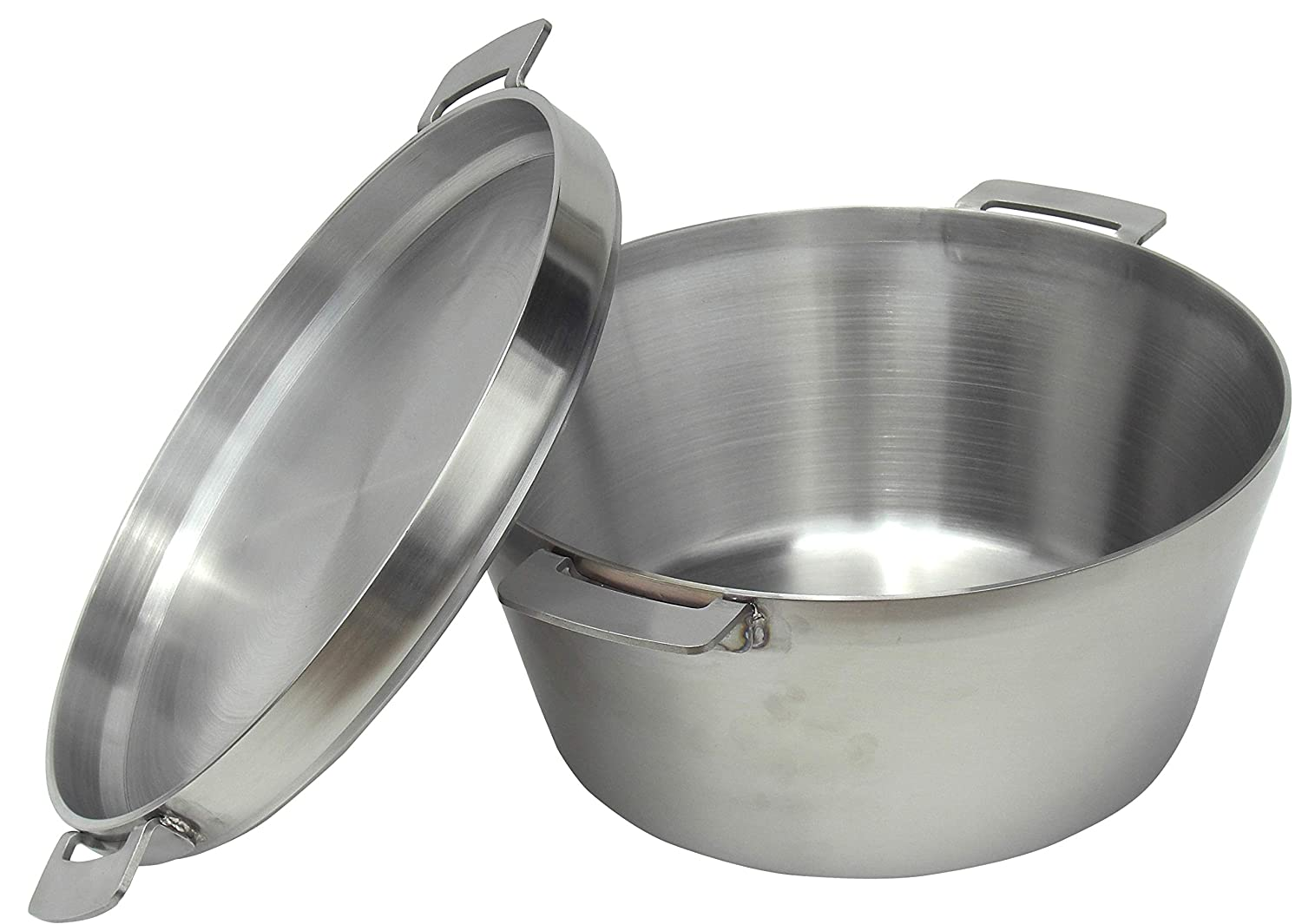 SOTO Stainless Steel Dutch Oven with 4mm Thick Wall