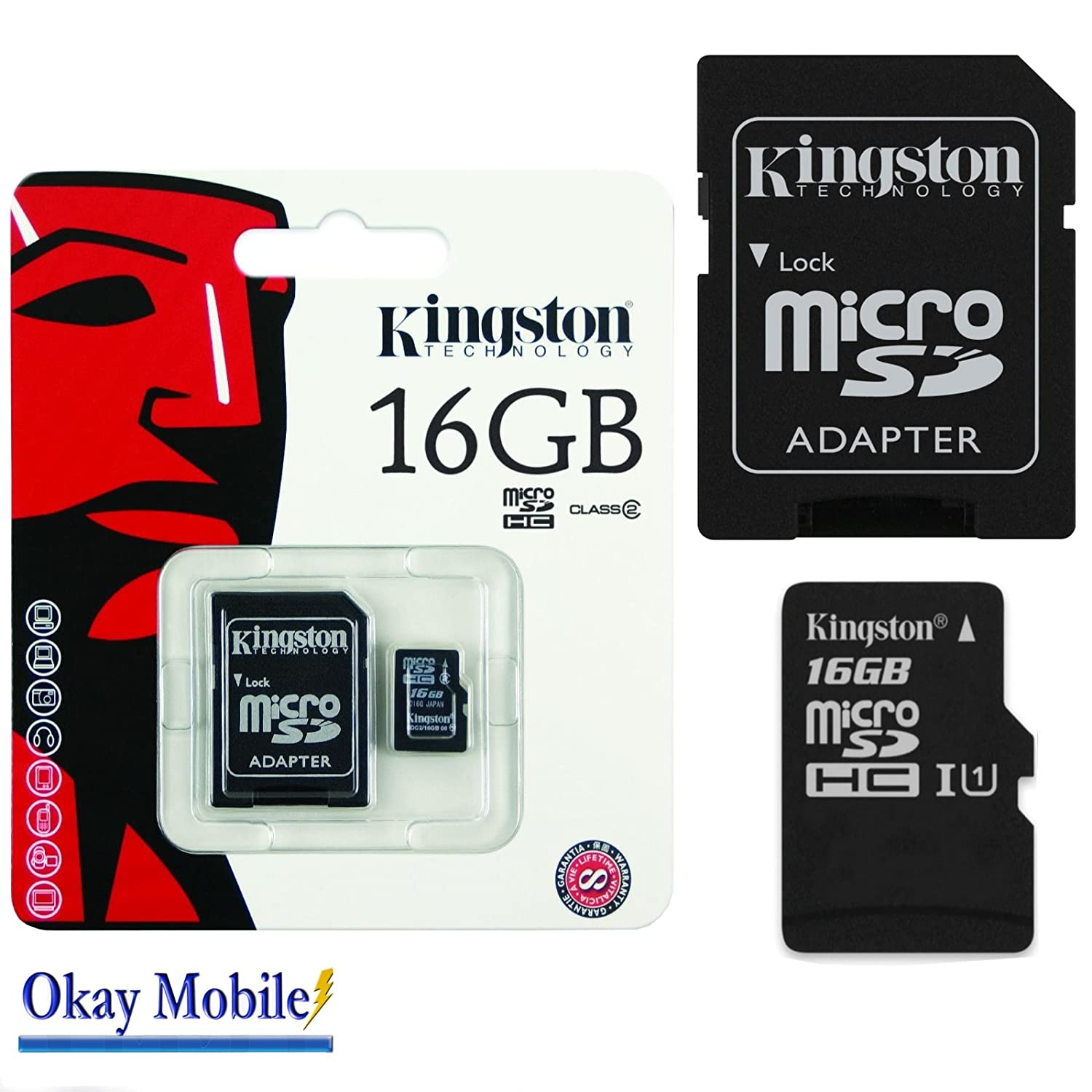 Original Kingston carte mé moire microSD 16  Go For Samsung Galaxy S7  Edge (sm-g386  g935  F) 7426770828973