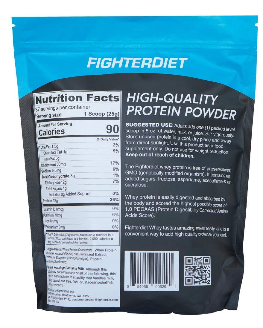 Fighterdiet - Whey Protein Peanut Butter - 32 oz by Fighterdiet