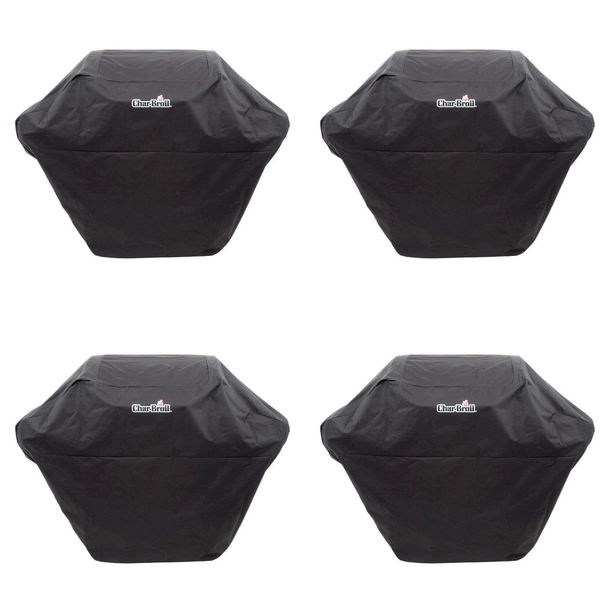 Char-Broil Rip Stop 2-3 Burner Medium Heavy Duty Polyester Grill Cover | 2936759 (4 Pack)