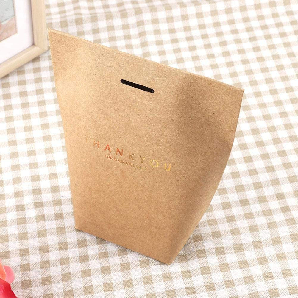 Party,etc Baby Shower brown Tote Bag for Wedding Kraft Paper Gift Bags Bulk,20Pcs Elegant Paper Gift Bag Candy Box Wedding Baby Shower Gift Bags