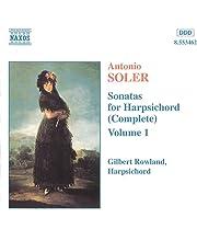 Sonatas Para Clavicordio V.1