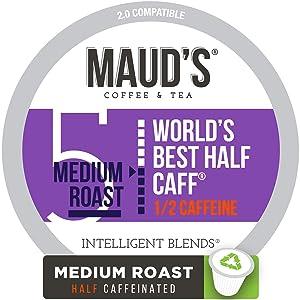 Maud's Half Caff Coffee